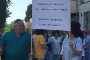 Синдикатите подкрепиха с декларация протеста на лекарите от онкодиспансера