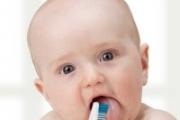 С първото зъбче започва и устаната хигиена