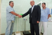 Дарение за Клуба на сляпо-глухите в Богомилово направиха от ГЕРБ