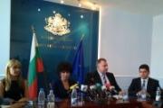 Министър Ненков представи екипа си