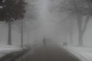 При мъгла дишайте през шал не повече от няколко минути