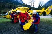 Въздушна спасителна служба в помощ на пострадали