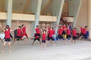 Деца от социалните домове в Стара Загора проведоха занимания по спортна гимнастика