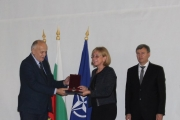 Доц. Евелина Одисеева получи Сребърен почетен знак на МЗ за дългогодишна дейност и постигнати резултати в областта на здравеопазването
