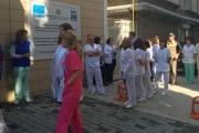 Онколози от Стара Загора на протест