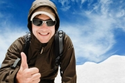 Слънчевите очила са важни и през зимата