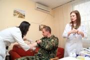 Над 70 гвардейци се включиха в акция за набиране на донори на стволови клетки