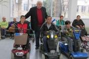 Нови скутери получиха трима в Дома на ивалида в Стара Загора