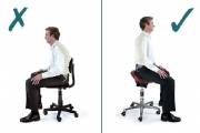 Неправилното седене предизвиква сериозни проблеми за здравето